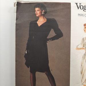 VTG VOGUE DRESS PATTERN  #1799